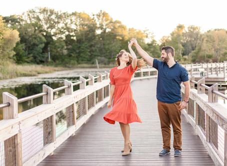 Leah + Andy | Provin Trails | Grand Rapids, MI | Engagement Session