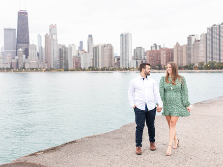 Deanna + Ben | Downtown Chicago | Engagement Session | Chicago, Il