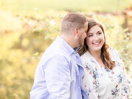Courtney + Matt | Engagement | Milham Park, Kalamazoo
