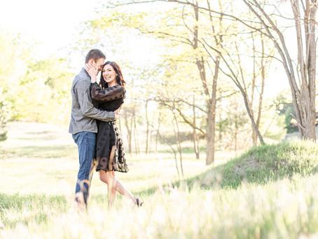 Ali + Zach | Lake Harbor Park | Engagement | Norton Shores, MI