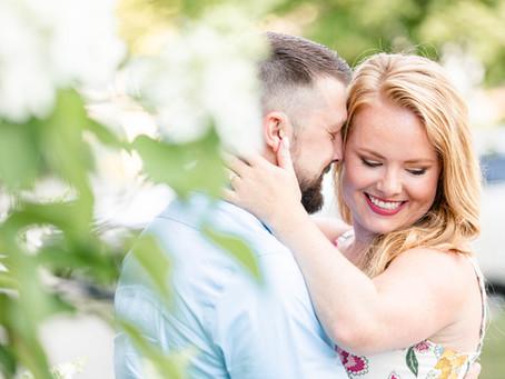Erin + Ben | Engagement | Journeyman Distillery, Three Oaks, MI