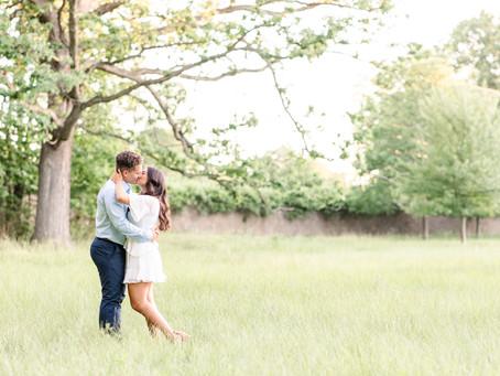 Sabrina and Grant | Engagement | Milham Park | Kalamazoo, MI
