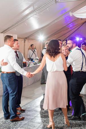 cute couple dancing wedding American 1 event center Jackson michigan