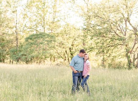 Allison + Adam | Engagement | Something Blue Berry Farm