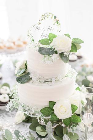 cake wedding American 1 event center Jackson michigan