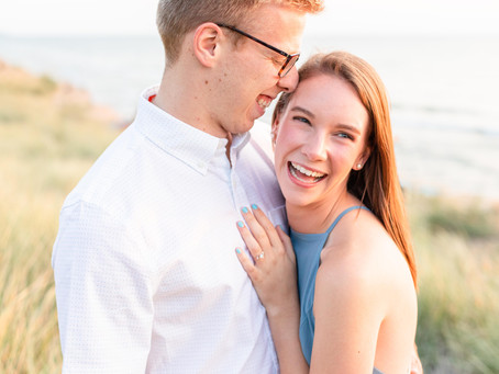 Anna and Spencer | Engagement Shoot | Holland, Michigan | Riley Trails