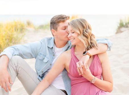 Nicala + Josh | Engagement | South Haven, MI