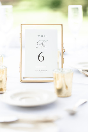 table number reception Kent Country Club Wedding Grand Rapids