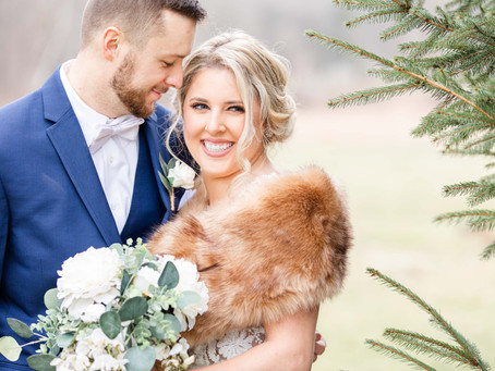 Kellie + Taylor | Winter Wedding