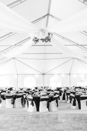 venue outside tent wedding American 1 event center Jackson michigan
