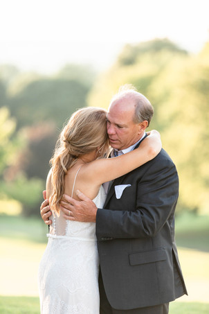 father daughter bride and dad dance Kent Country Club Wedding Grand Rapids