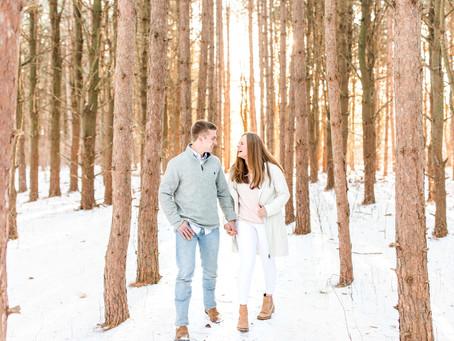 Paula + Jared | Engagement | Al Sabo Land Preserve