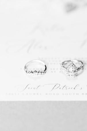 Wedding Rings Saint Patricks Park South Bend Indiana