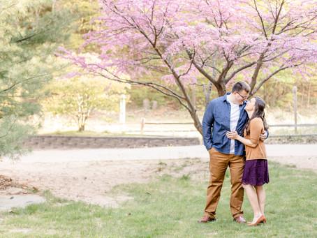 Kelley and Matt | Engagement | Van Buren State Park | South Haven, MI |