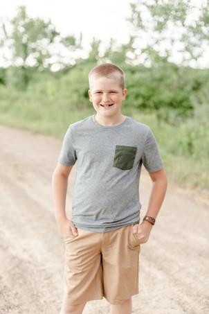 cute boy coordinating outfit engel farms photo shoot