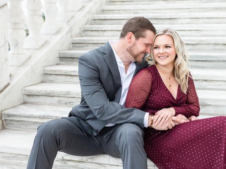 Paige + Jordan | Engagement | Detroit, MI