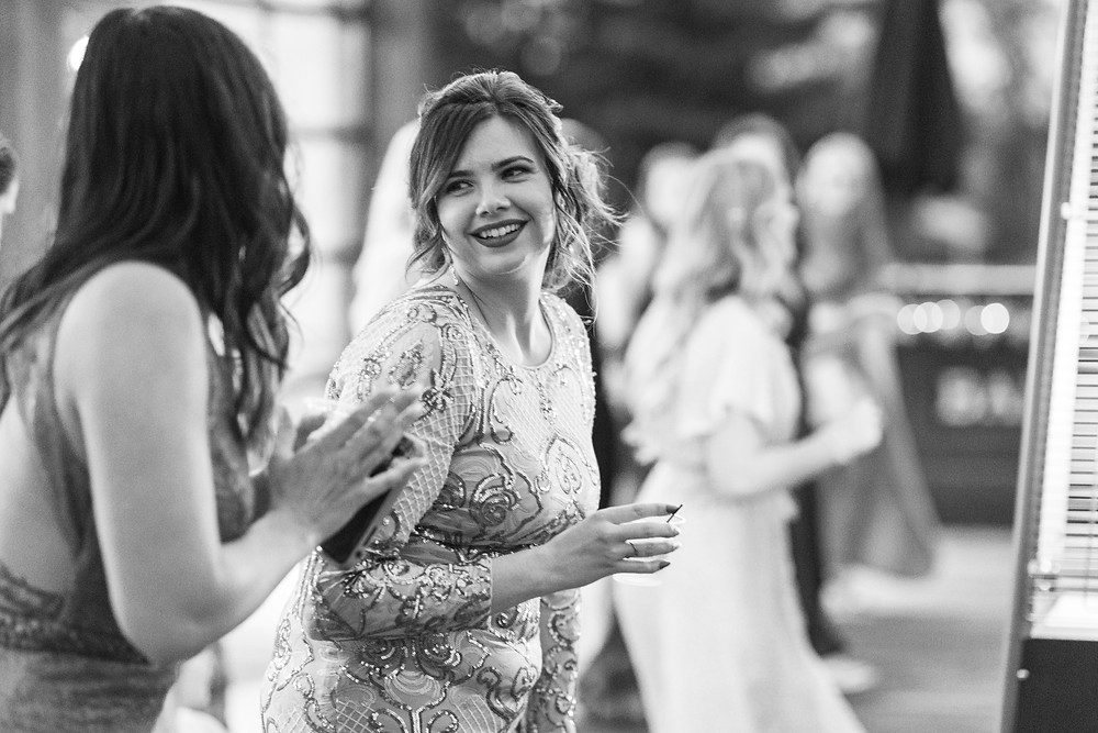 Josh and Andrea wedding photography husband and wife photographer team michigan Black Barn Wedding Venue rives junction spring reception dancing