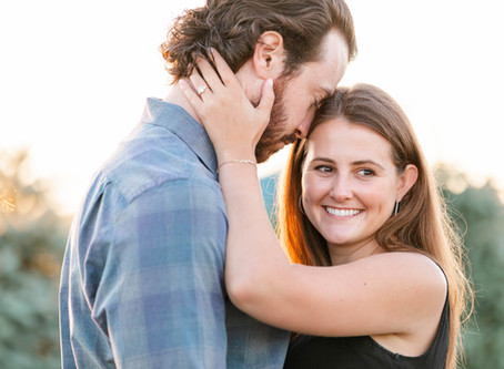 Sara + Ryan | Engagement | Christmas Tree Farm & Lake