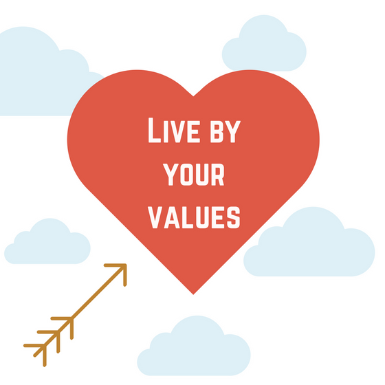 Live by Your Values