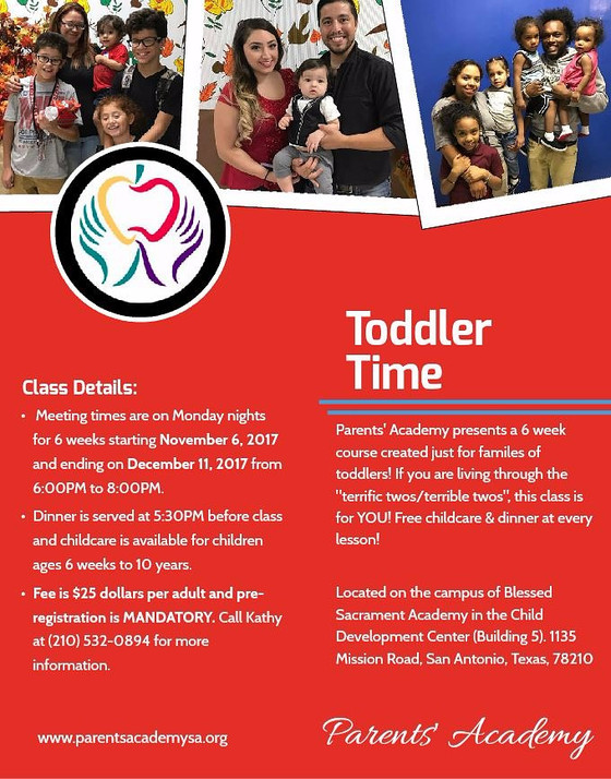 Toddler Time! our new class...