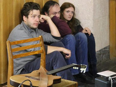 поэтический концерт в Переделкино
