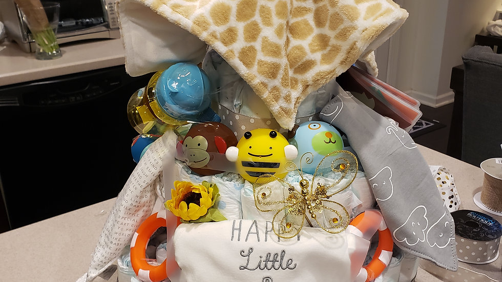 Where the Wild Things..Baby Basket