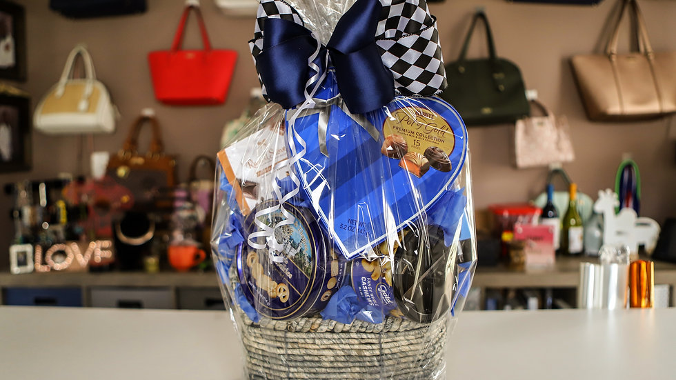 Men's Valentine Basket
