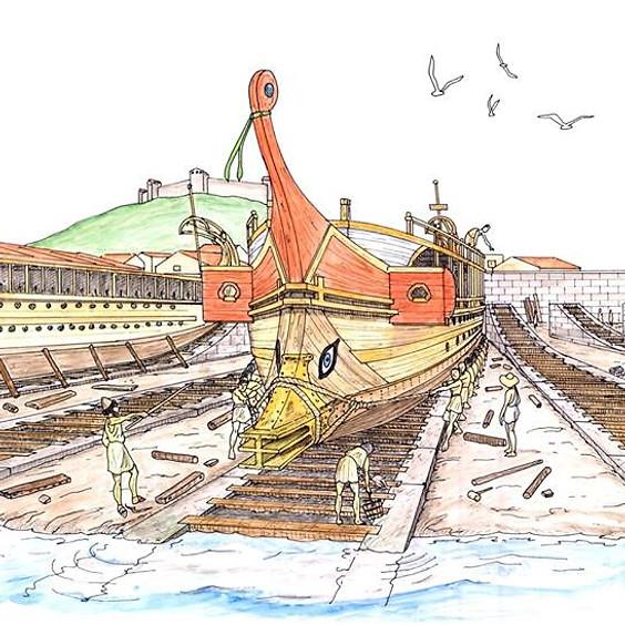 Ταξειδεύοντας στη ναυτική ιστορία του Πειραιώς