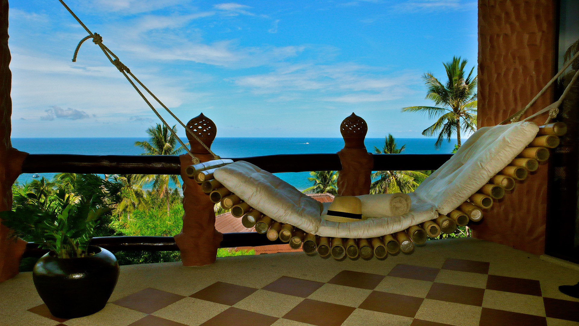 Seascape Villa Balcony