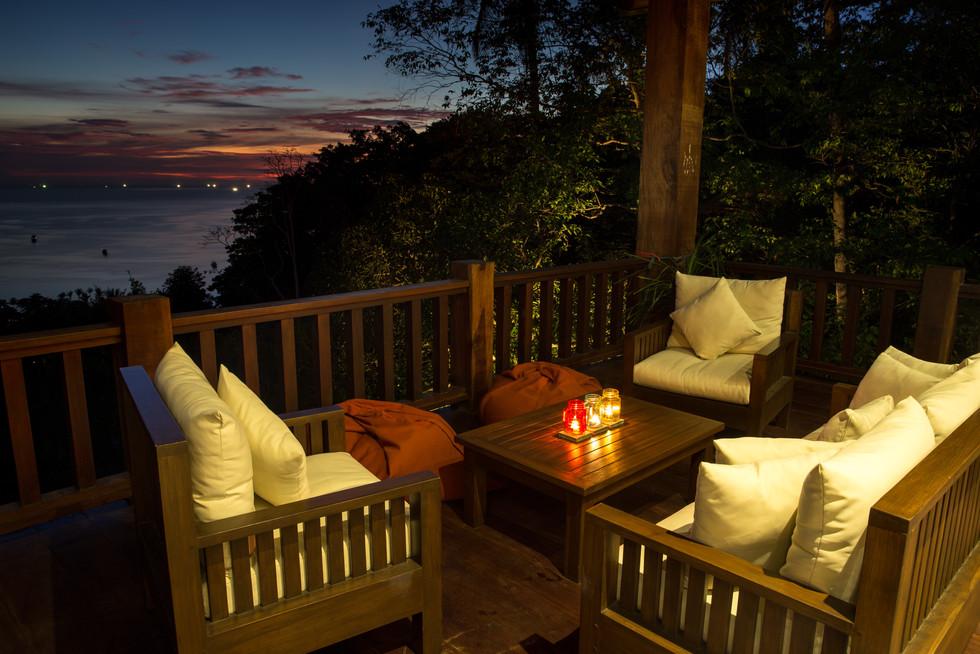 Balcony Lounge Area