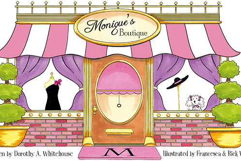 Monique's Boutique Children's Book