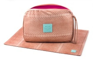 Posh Play Grapefruit Diaper Clutch Combo