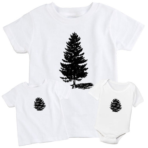 Pine Tree & Cone Set