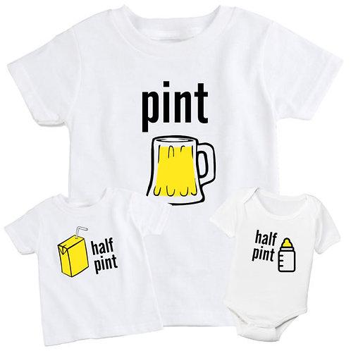 Pint & Half Pint Set