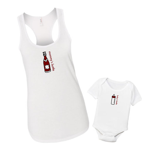 Mommy's Bottle & Baby's Bottle Set