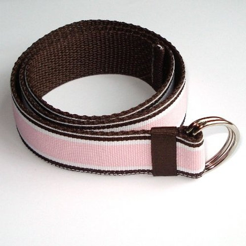 Pink and Brown Belt