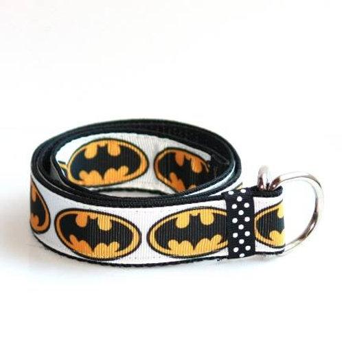 White Batman Belt