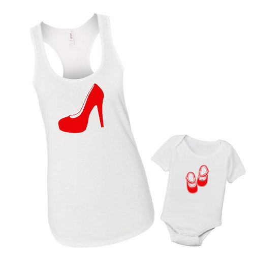 Mommy & Me Shoes Set