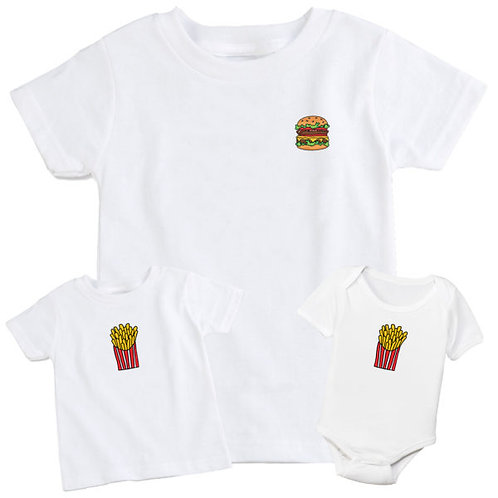 Burger & Fries Set