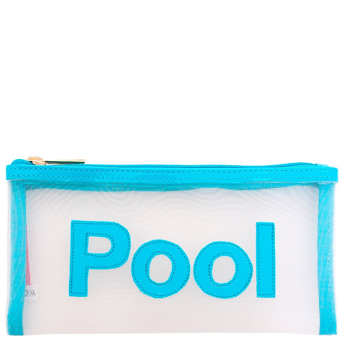 LOLO White Mesh Moya Case with Turquoise Pool