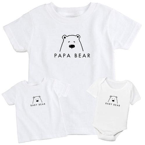 Papa Bear & Baby Bear Set