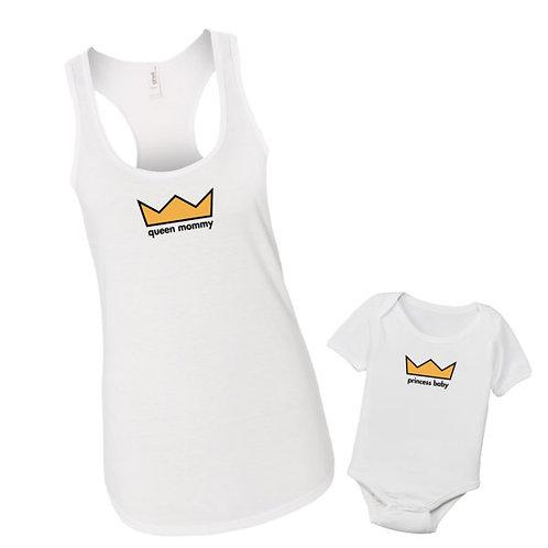 Queen & Prince / Princess Crown Set