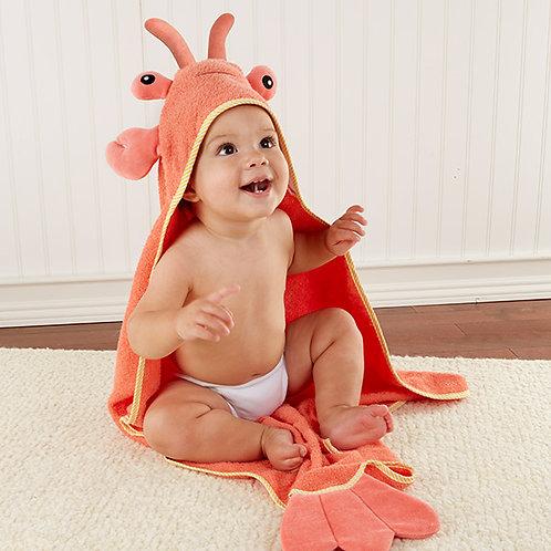 Lobster Hooded Towel