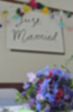 Just Married Christ Church Walshaw Bury