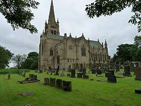 Christ Church Walshaw graveyard