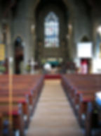 Interior today at Christ Church Walshaw Bury