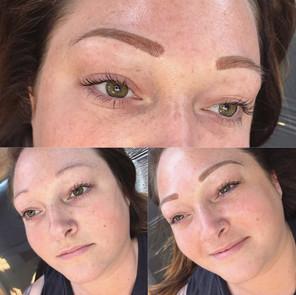 Tattooed Powder Eyebrows
