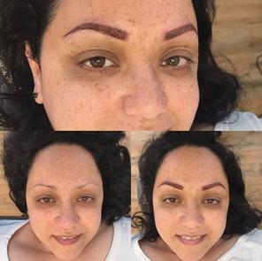 beautiful tattooed brows