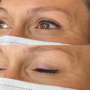tattooed eyeliner