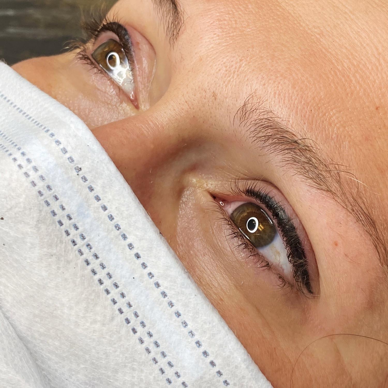 Eyeliner (upper or lower lids only)